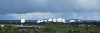U.S RAF 'Communications and Intelligence' base, Menwith Hills, North Yorkshire