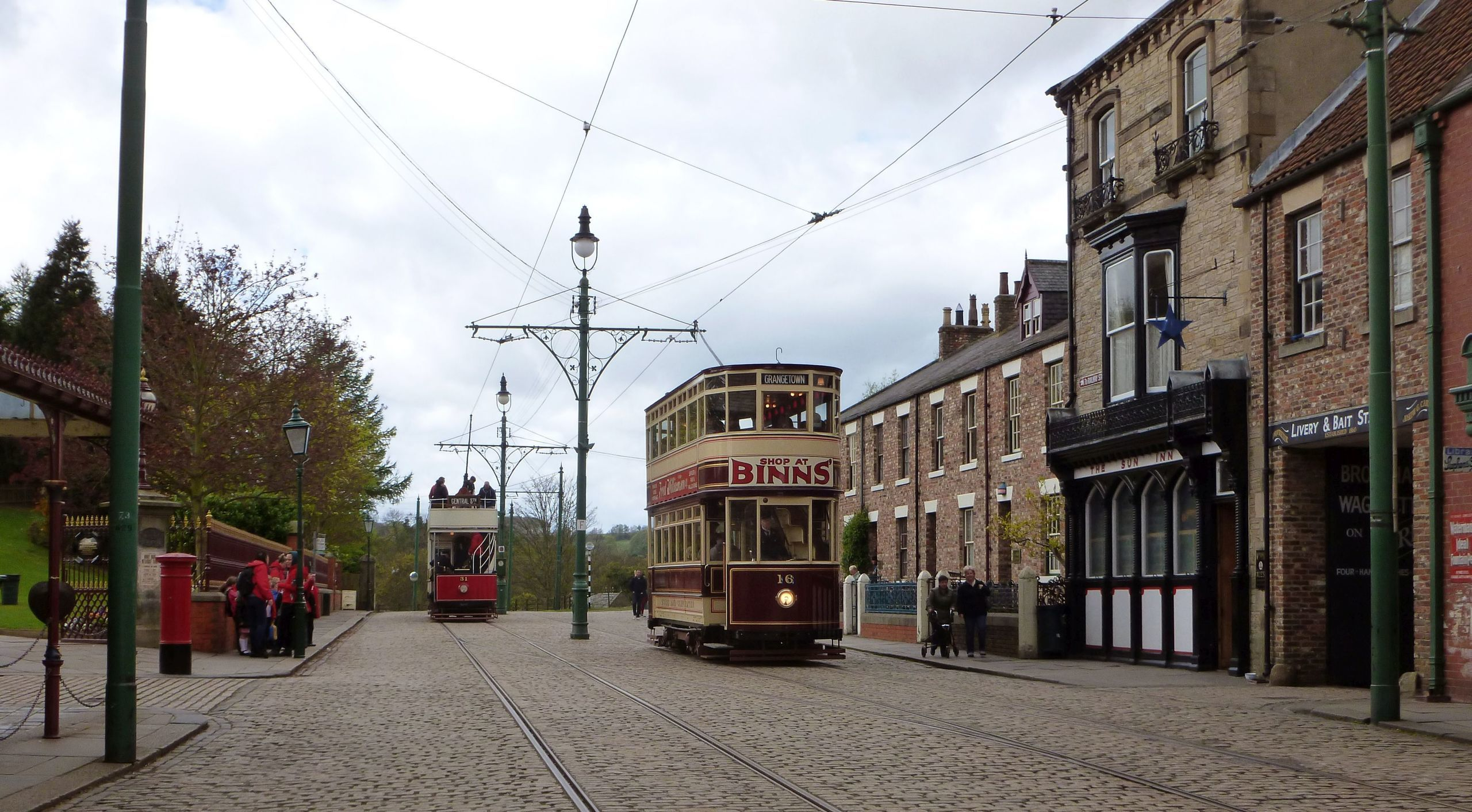 Main Street - Beamish Living Village